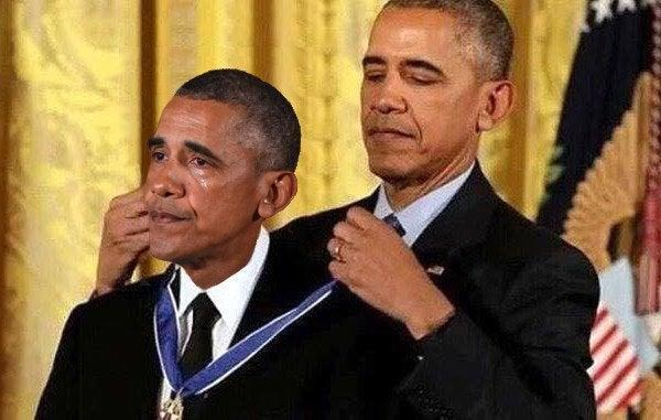 Obama Awards Obama a Medal | Know Your Meme